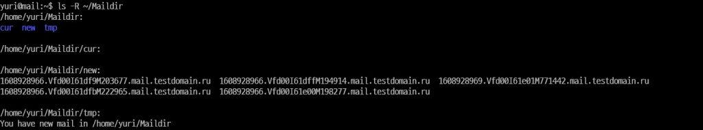 Установка клиента – как настроить почтовый сервер на Linux