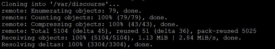 Создание каталога /var/discourse. Как установить Discourse на Ubuntu 20.04.