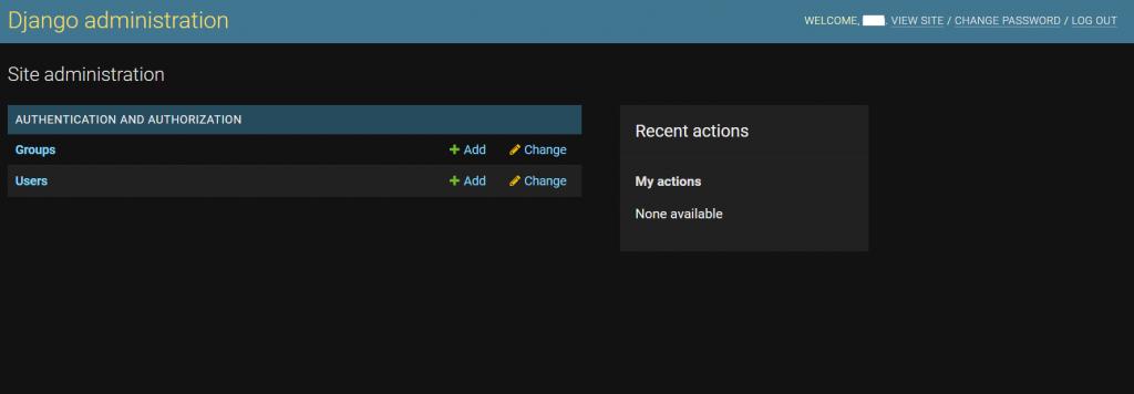 Административный модуль веб-сайта Django на Ubuntu 20.04