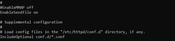 Файл конфигурации Apache