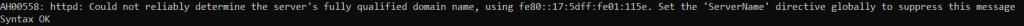 Проверка синтаксиса