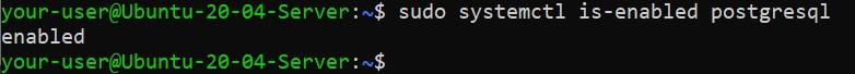 Проверка запуска PostgreSQL - как установить PostgreSQL и pgAdmin4 в Ubuntu 20.04