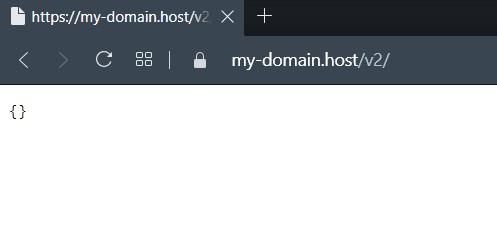 Пустой объект JSON