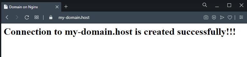 Защищённое подключение по HTTPS