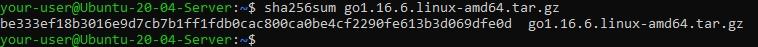 Проверка контрольной суммы файла дистрибутива